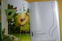 Bunte Garten-Stecker / Alice Rögele (Topp - 2016)