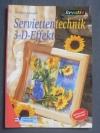 Serviettentechnik 3-D-Effekt / Barbara Kemper (kreativ 2001)