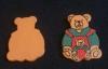 Streuteile - 18 sitzender Bär (3x2cm)